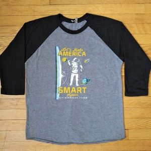 Make America Smart Again Shirt L
